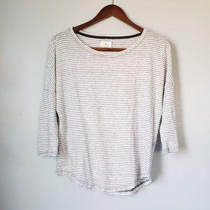 Lou & grey striped linen top